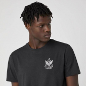 Wrangler Biker Tee Faded Black
