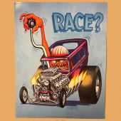 Ed Roth Race poster