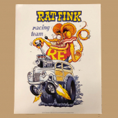 Ed Roth Rat Fink Racing Team poster