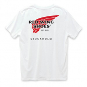 Red Wing Stockholm Logo T-shirt White
