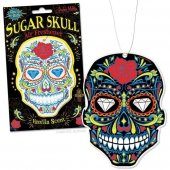 Accoutrements Air Freshener Glow Sugar Skull