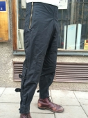 Waxed Barbour MC Trousers deadstock