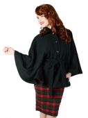 Collectif Eglentine cape coat