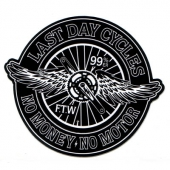 Last Day Cycles Sticker