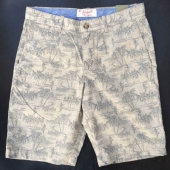 Penguin Hawaii Printed Shorts Khaki