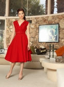 Heart of Haute Milan Dress Jet Setter Red