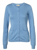Jumperfabriken Doris Cardigan Blue