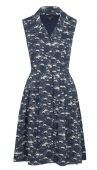 Emily and Fin Jessica dress navy cloud