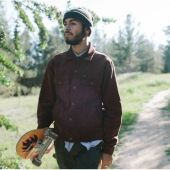 Brixton Cable II Rust Jacket