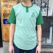 Brixton Major S/S Henley Heather Green
