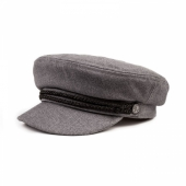 Brixton Fiddler Cap Light Grey