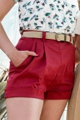 Emmy Design Casual Voyager Shorts Red