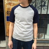 Gooseberry Lay & Co Rag Tee Navy/Grey
