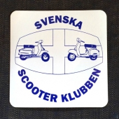 Svenska Scooterklubben Sticker