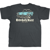 Old Guys Rule Cruise Control Charcoal Tee