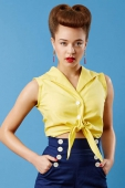 Tara Starlet The Knot Top Yellow