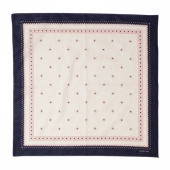 Warehouse 1920s Calico Navy Bandana