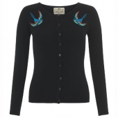 Collectif Jo cardigan bluebird