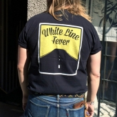 Blackdays White Line Fever T-shirt