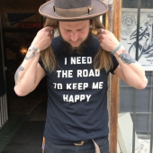 Blackdays I Need the Road T-shirt