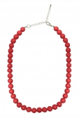 Collectif Clothing Red bead necklace