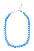 Collectif Clothing Blue bead necklace