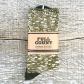 Fullcount Melange Sox Tea Green x Olive, Eur 39-42