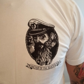 Anchor of the Seven Seas Kaparen White Tee