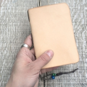 Field Notes Leather Cover Natural