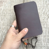 Field Notes Leather Cover Brown