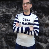 Deus Ex Machina Moto Crew natural/navy