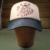 Deus Surf Girl Trucker dark green