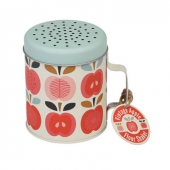 Flour shaker vintage apple