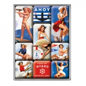 Ahoy sailor magnet set