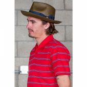 Brixton Presley Fedora brown/navy