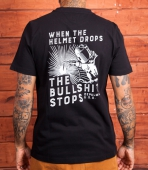 DePalma Straight Time tee black