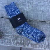 Lee Knitted Socks Dark Indigo