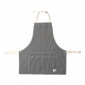 Edwin Apron 2 Surplus Fabric Blue Stripe