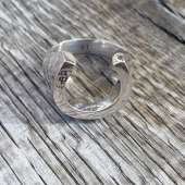 O.P Jewellery Horseshoe Ring Silver