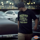 Dickies Grover Beach Tee Black