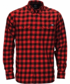Dickies Jacksonville Shirt Fiery Red