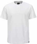 Dickies Hixton Button T-Shirt White