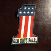 Old Guys Rule Number One Patch