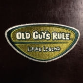 Old Guys Rule Living Legend Patch