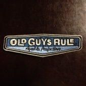 Old Guys Rule Rear View Patch