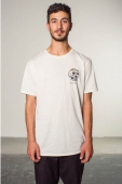 Brixton Last Call offwhite tee