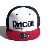 Dirt Cült Mud Bel Air white/red/navy