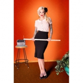 Tatyana Catwalk Black Skirt