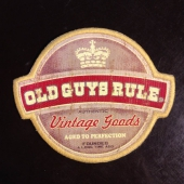 Old Guys Rule Vintage Goods Patch