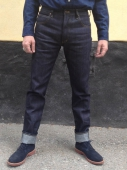 Lee 101 Rider Slim Fit Green Selvedge